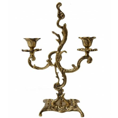 Le chandelier 2 flammes