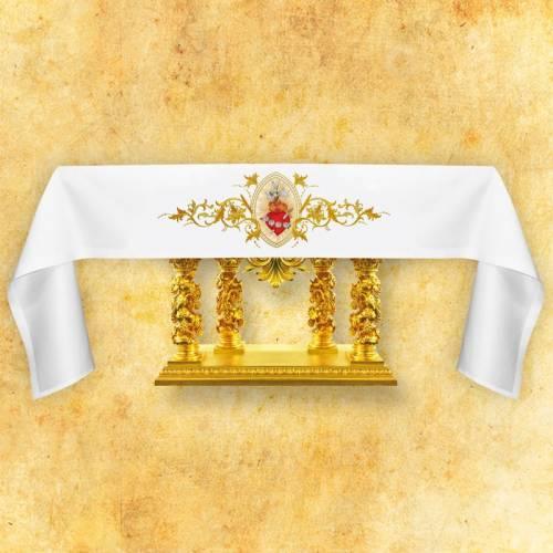 Nappe d'autel - Cœur Jésus