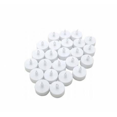 Bougie pilier LED - paquet 12 pièces