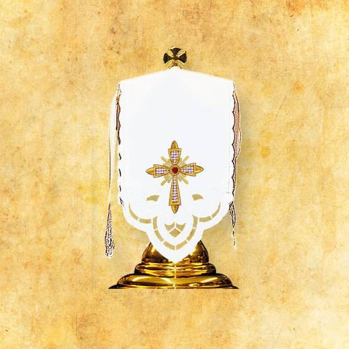 """Linge d'autel """" Rayonnant"""""""