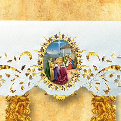 Nappe d'autel - Noël 4