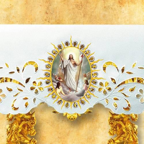 Nappe d'autel - Pâques 14