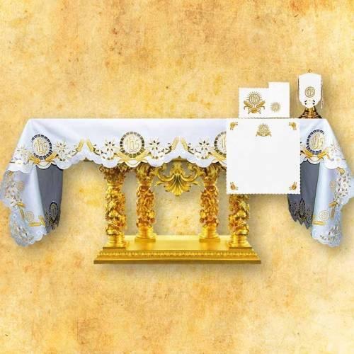 Nappe d'autel EUCHARISTIE