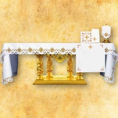 Nappe d'autel Des croix dans le carre-color