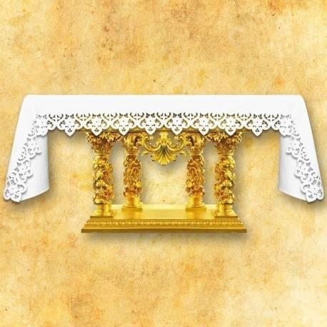 Nappe d'autel Bianco Fiori