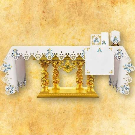 Nappe d'autel MARIE DU ROSAIRE