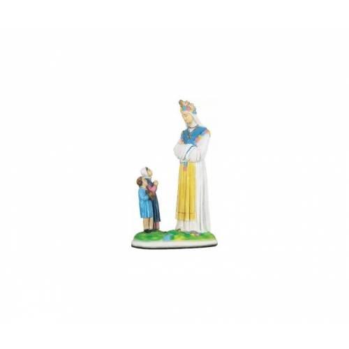 Statue Notre Dame de la Salette avec enfants - 51 cm