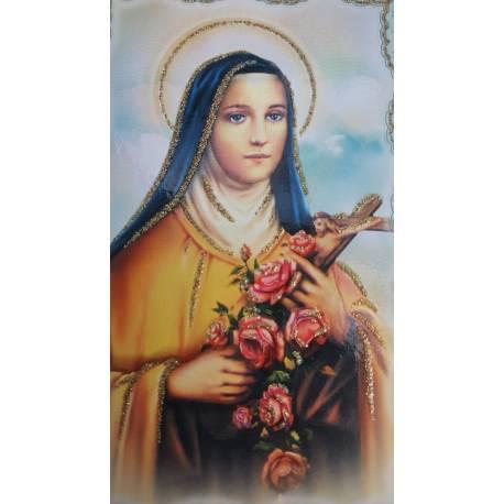 Chasuble avec photo Sainte Thérèse