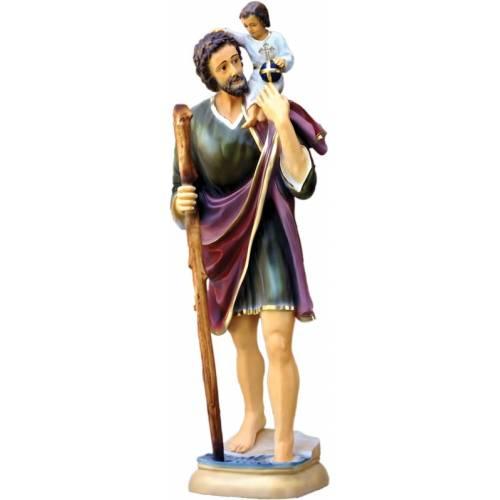 Statue Saint Christophe 128cm