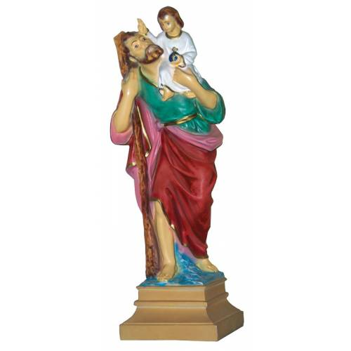 Statue Saint Christophe 40cm