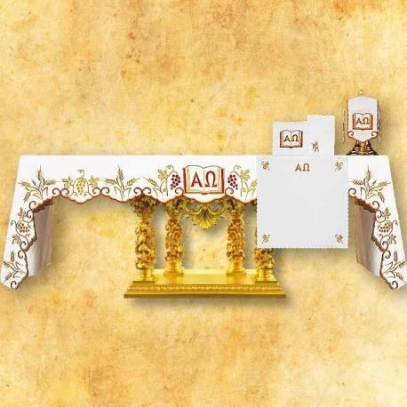 Nappe d'autel ALFA OMEGA