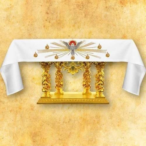 Nappe d'autel Saint Esprit
