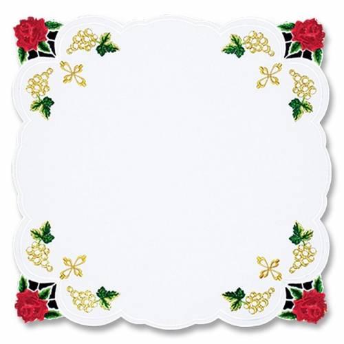 Serviette d'autel Roses
