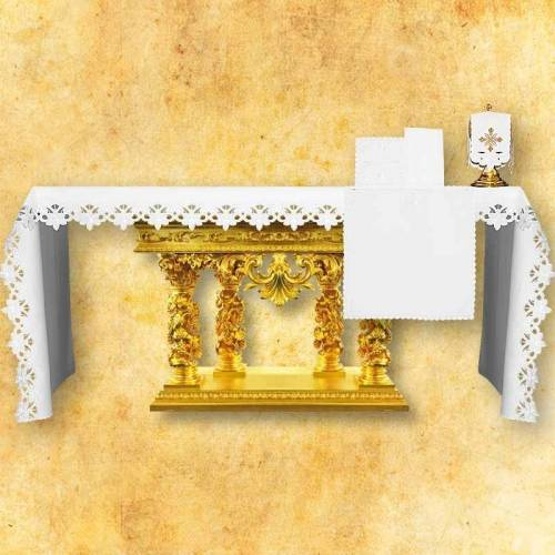 "Nappe d'autel ""Lilium Candidum"""