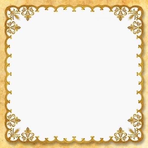 """Petites Nappes Carrees """"Italian Gold"""""""