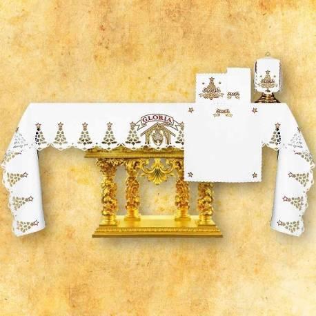 Nappe d'autel GLORIA- Créche