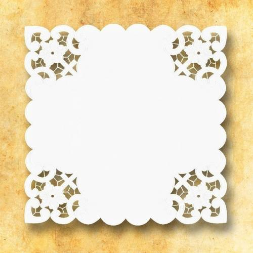 "Serviette d'autel "" Bianco Fiori """