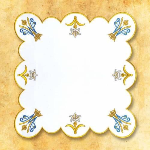 """Serviette d'autel """" Mariale Royal """""""