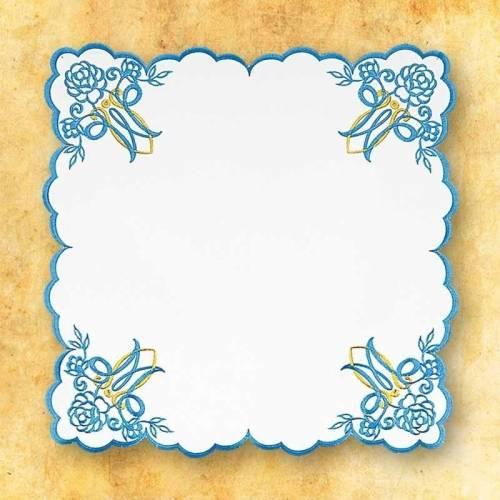 Serviette d'autel MARIALE BLUE
