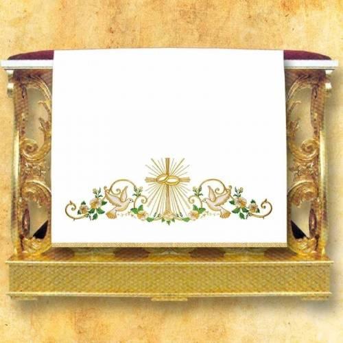 Nappe d'autel –mariage PRIMAVERA