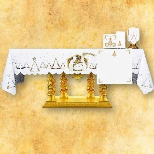 Nappe d'autel Créche