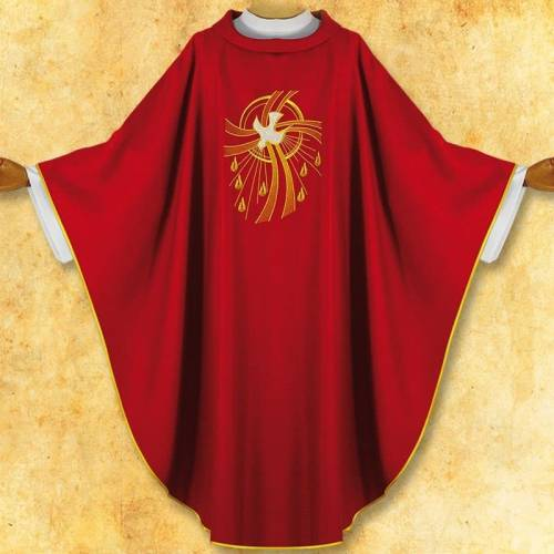 """Chasuble """" Saint Esprit"""""""