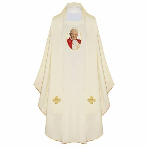 "Chasuble ""St. Jean Paul II"""