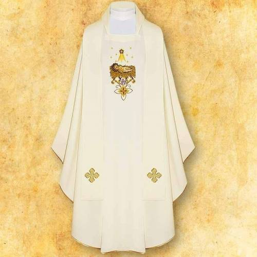 "Chasuble ""Gloria in Excelsis Deo"""