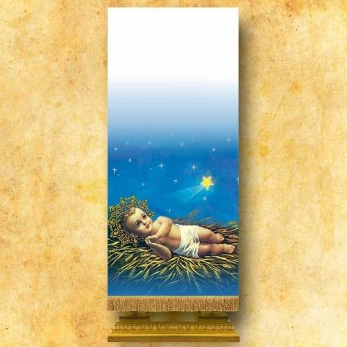 """Voile de lutrin """"Noël"""