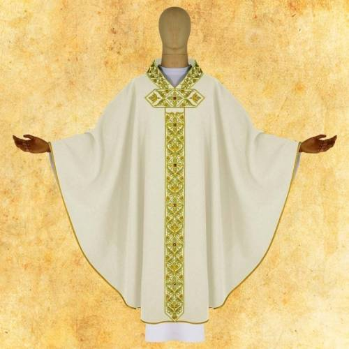 CHASUBLE CARDINALE