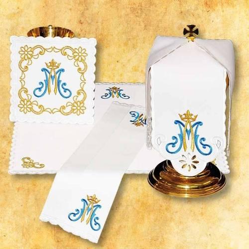 Linge d'autel  MARIE DE CHAPELET