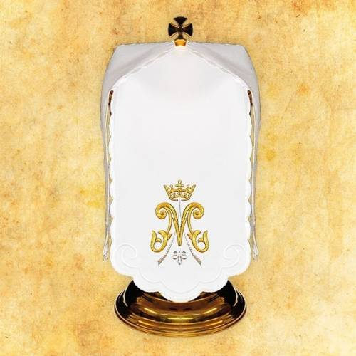 """Linge d'autel """"Santa Madonna"""""""