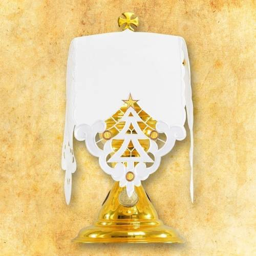 """Linge d'autel """" Messe de Noel"""""""