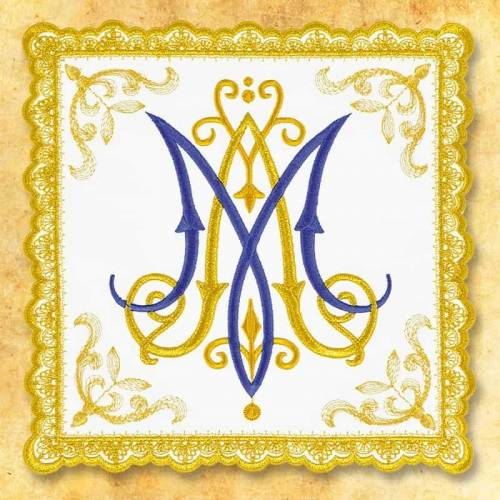 """Linge d'autel """" Gold"""" 3"""