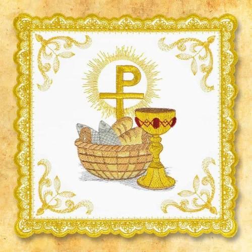 """Linge d'autel """" Gold"""" 1"""