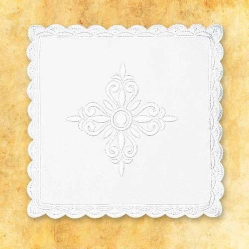 """Linge d'autel """" Blanc"""" 4"""