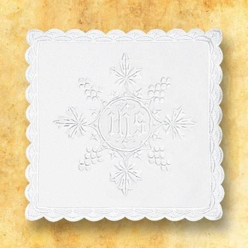 """Linge d'autel """" Blanc"""" 6"""
