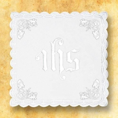 """Linge d'autel """" Blanc"""" 8"""