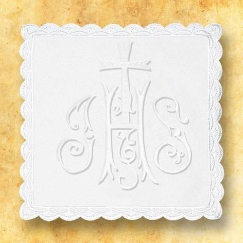 """Linge d'autel """" Blanc"""" 12"""