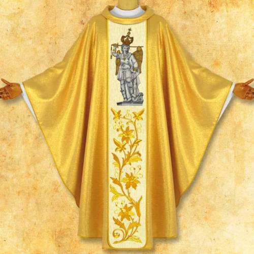 "Chasuble ""Saint Michel Angelo """