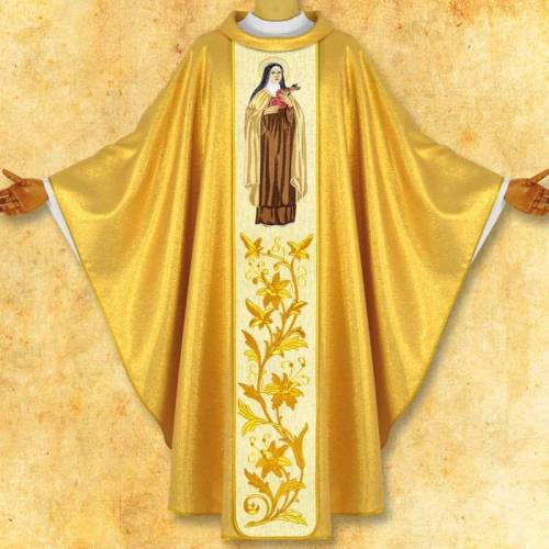 "Chasuble ""Saint Therese """