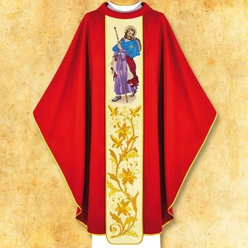 """Chasuble """"Saint Jacques """""""