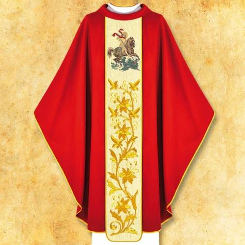 "Chasuble ""Saint Georges"""