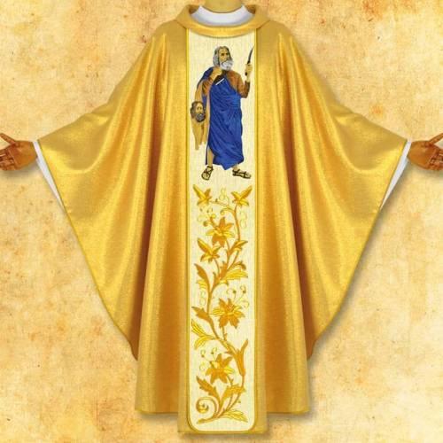 """Chasuble """"Saint Barthelemy"""""""
