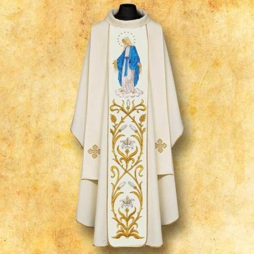 "Chasuble Mariale ""ND"""