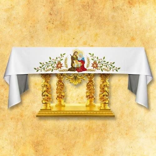"""Nappe d'autel """"Etole de Noel"""""""