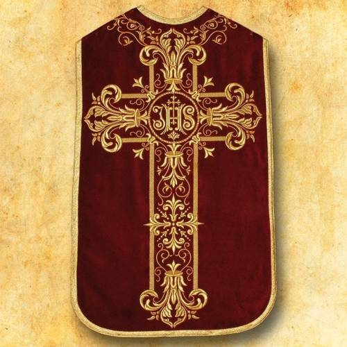 """Chasuble romaine """"Homilia"""" - complet"""