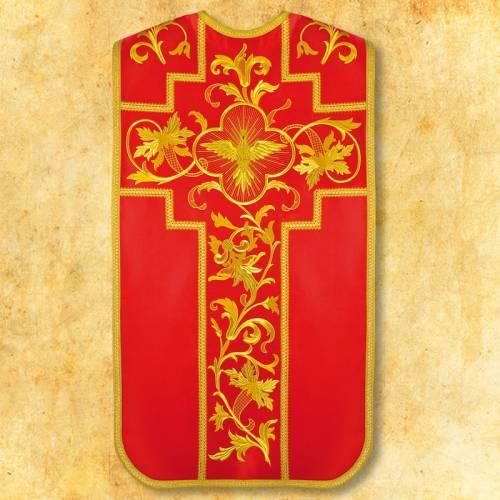 """Chasuble romaine """"Saint Esprit"""" - complet"""