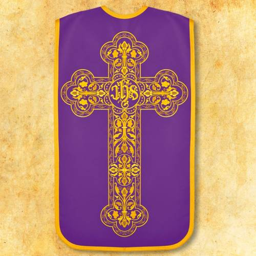 """Chasuble romaine """"Confessio"""" - complet"""