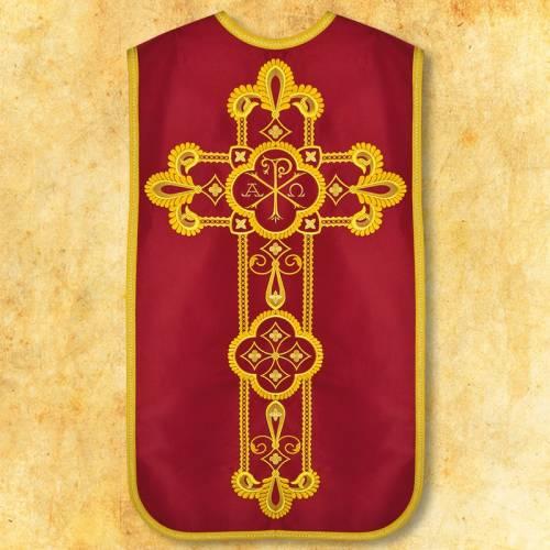 "Chasuble romaine ""Alfa Omega"" - complet"